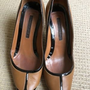 Narciso Rodriguez Women's Stiletto Brown + Black